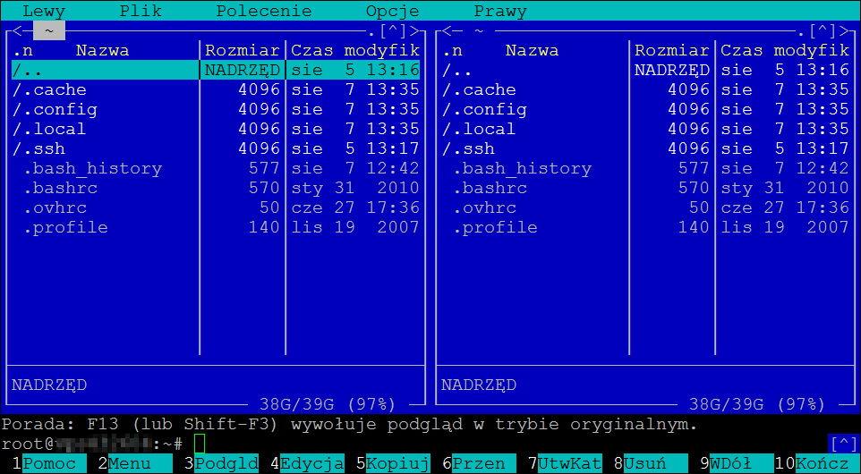 Debian - polskie znaki - poprawne