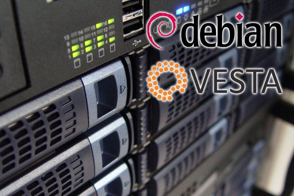 Konfiguracja serwera VPS od A do Z w oparciu o Debian 8 (Jessie) i panel Vesta
